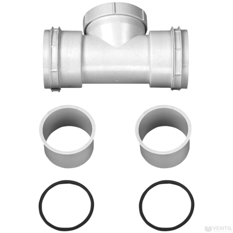 Bosch 80 mm-es tisztítónyílás flexibilis égéstermékelvezetéshez (AZB 667)