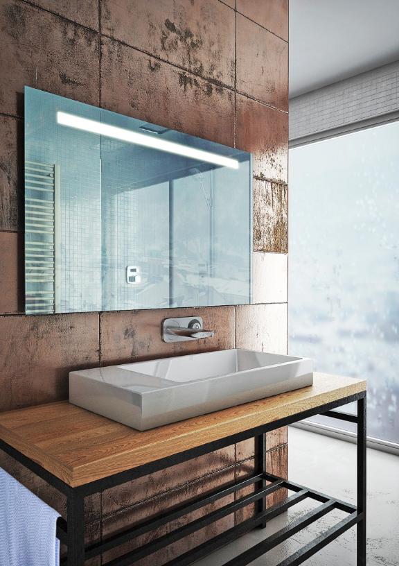 HB DV. Play fürdőszoba tükör 1000x650 mm (LED világítással ... 7d058f75f5