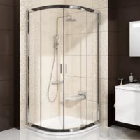 Ravak Blix BLCP4-90 zuhanykabin, négyrészes, elcsúsztatható negyed köríves
