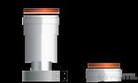 Beretta 60/100-80/80 függőleges szétválasztó indító idom kondenzációs kazánhoz