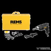 REMS Hurrican 12-15-18-22 Set elektromos csőnyak kihúzó
