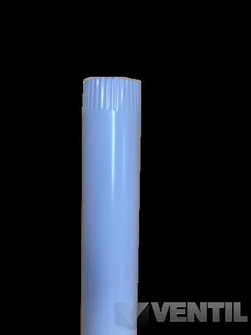 alu füstcső 76-os fehér