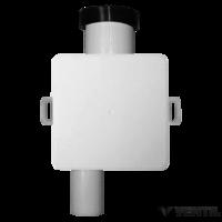 HL klímaszifon DN32 falba süllyesztve 100x100mm