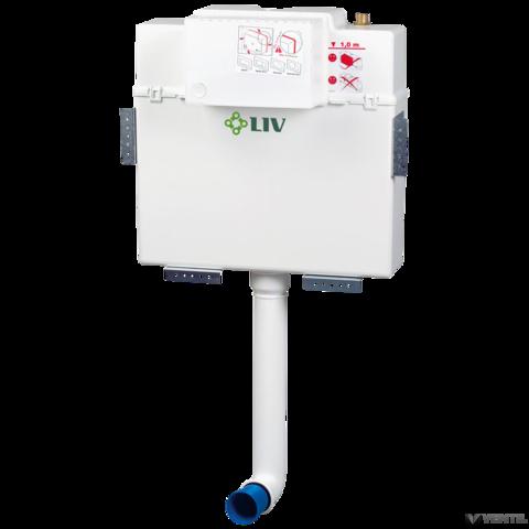 LIV JOG 9012 beépíthető tartály lábonálló WC-hez