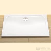 Ravak Gigant Pro Chrome téglalap alakú zuhanytálca, 120x90 cm, fehér, öntött műmárvány