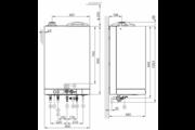 Viessmann Vitodens 111-W 35KW EU ERP hőközpont kondenzációs gázkazán
