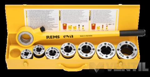 """REMS Eva Set 3/8-5/4"""" kézi menetvágó"""
