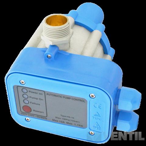 BRH Compact 2 Press Controll szivattyú vezérlő, áramlás kapcsoló 2,2 kW-os szivattyúkhoz