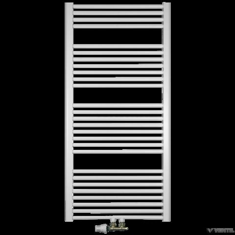 Concept 600x880 mm egyenes középső kötésű törölközőszárító radiátor