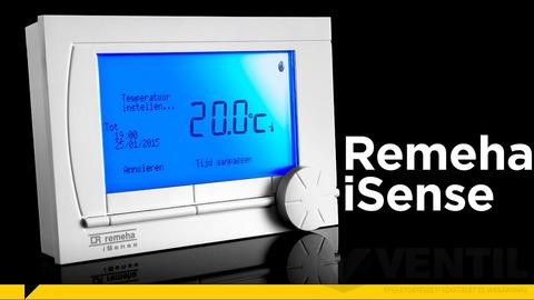 Remeha iSense RF programozható digitális szobatermosztát, rádiófrekvenciás