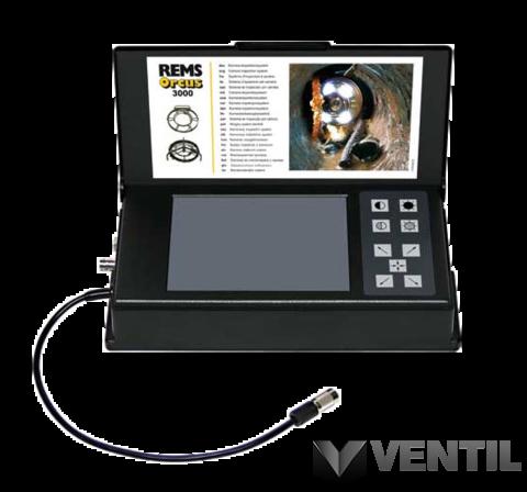 REMS Orcus 3000  Set 20 b/w K elektronikus csővizsgáló kamera