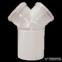 Almeva PPH kondenzációs szétválasztó Y idom 200/2x160