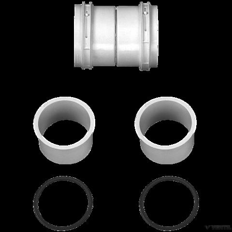 Bosch 100 mm-es csatlakozó-toldó elem flexibilis égéstermék-elvezetéshez (AZB 673)