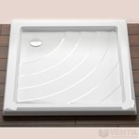 Ravak Angela 80 PU négyzet alakú zuhanytálca, 80x80 cm, fehér, akril