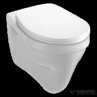 Alföldi Saval 2.0 fehér színű, alsó kifolyású, lapos öblítésű, falra szerelhető WC csésze