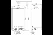 Viessmann Vitodens 100-W 35KW Kondenzációs fűtő gázkazán 150 literes tárolóval