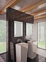 HB DV. Bono fürdőszoba tükör 700×800 mm (LED világítással)