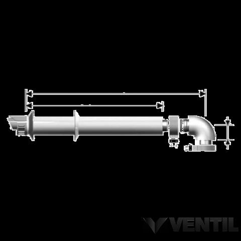 Ariston parapet szett FB típusú vízmelegítőkhöz.