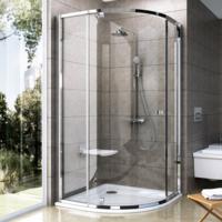 Ravak Pivot PSKK3-90 zuhanykabin, háromrészes, negyedköríves