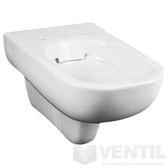 Kolo Traffic Rimfree mélyöblítésű fali WC csésze perem nékül, ReflexKolo felülettel