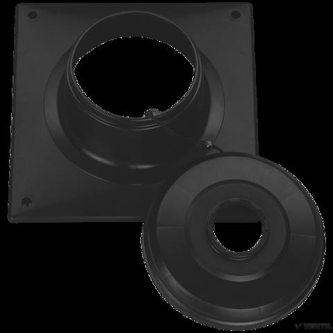 Bosch 100 mm-es esővédő sapka, 100 mm-es égéstermék-elvezetéshez (AZB 651/2)