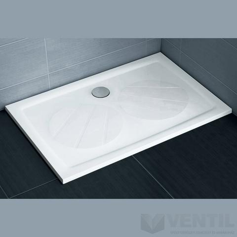 Ravak Gigant Pro téglalap alakú zuhanytálca, 120x80 cm, fehér, öntött műmárvány