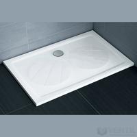 Ravak Gigant Pro téglalap alakú zuhanytálca, 100x80 cm, fehér, öntött műmárvány