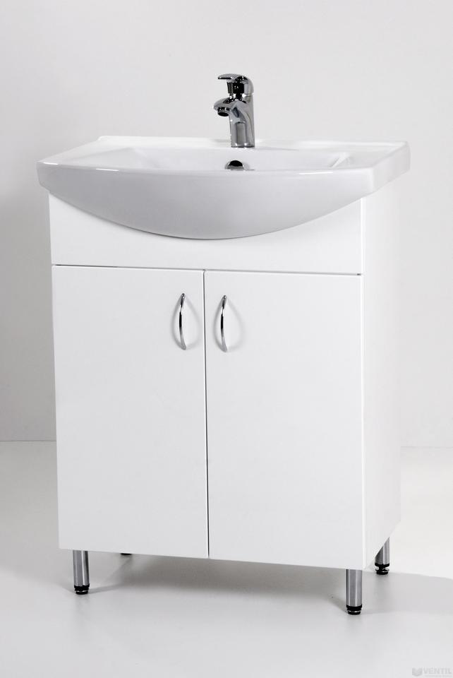 HB Standard 65 fürdőszoba szekrény mosdóval 850x650x350 mm 18577c5a5c