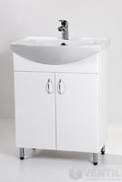 HB Standard 65 fürdőszoba szekrény mosdóval 850x650x350 mm
