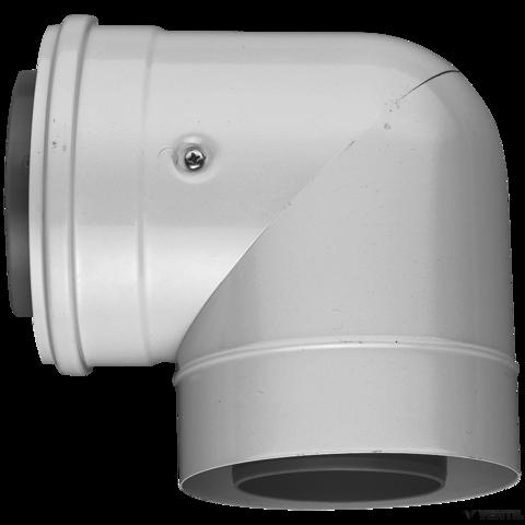 Bosch 80/125 mm-es 90°-os könyök (AZB 607/1)
