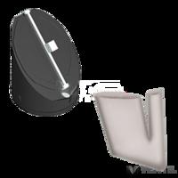 Almeva PPH kondenzációs visszaáramlás biztosító pillangó szelep DN 80