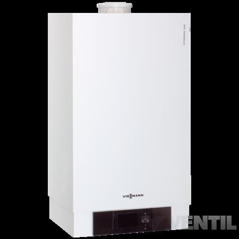 Viessmann Vitodens 200-W 26KW Kondenzációs fűtő gázkazán Vitotronic 100 HC1B szabályzóval