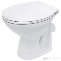 Cersanit President C10 hátsós lapos öblítésű WC csésze