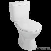 Alföldi Saval 2.0 WC csésze mélyöblítésű hátsós monoblokk WC 7090 (a tartály nem tartozék)