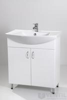 HB Standard 75 fürdőszoba szekrény mosdóval 850x750x350 mm