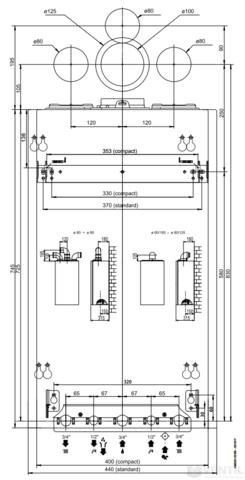 Ariston Clas One 24 kombi kondenzációs fali gázkazán EU-ERP