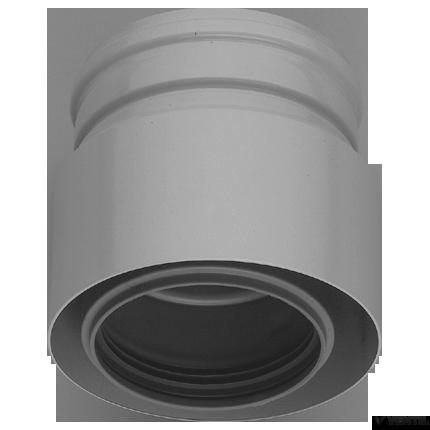Bosch 80/125 - 100/150 mm-es adapter falon kívüli füstgáz-elvezetéshez (AZB 659/1)