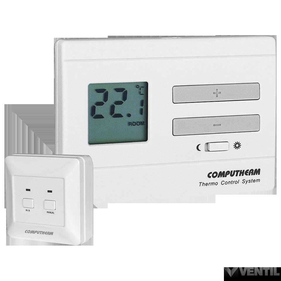 3 Vezetékes termosztát bekötése