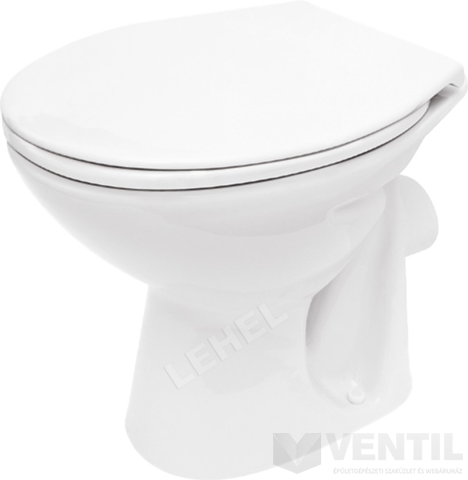 Cersanit President P10 hátsó kifolyású, mély öblítésű WC csésze