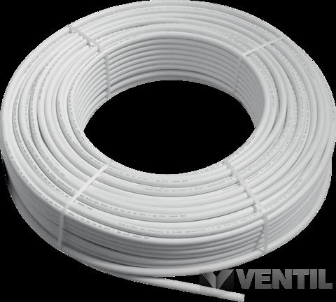 Wavin ötrétegű alubetétes műanyag cső 25 x 2,5 (50fm/tekercs)