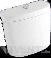 Alföldi Solinar 6004 fehér színű, monoblokkos WC tartály