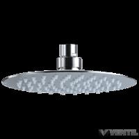 B&K West Prémium esőztető zuhanyfej, állítható, rozsdamentes acél, matt, 200mm