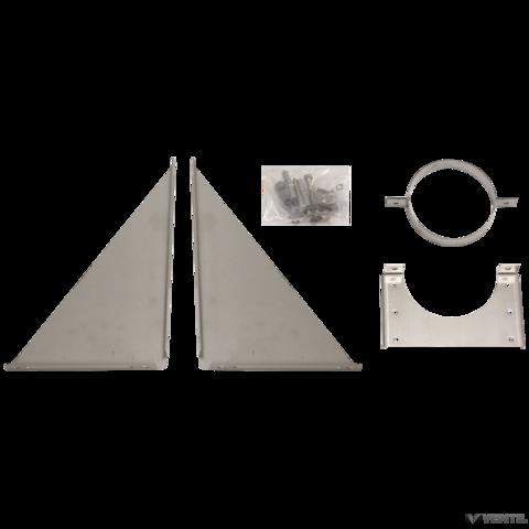Vaillant külső fali tartókonzol homlokzati égéstermék elvezetéshez (beállítható 50-300 mm között)