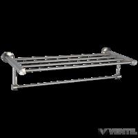 B&K West Prémium törölköző tartó, rozsdamentes acél, matt, 600 mm