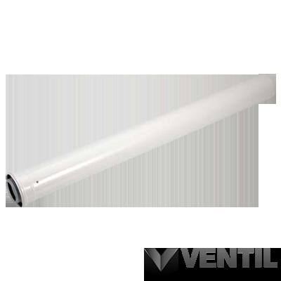Viessmann cső 0,5m 60/100 pps/alu