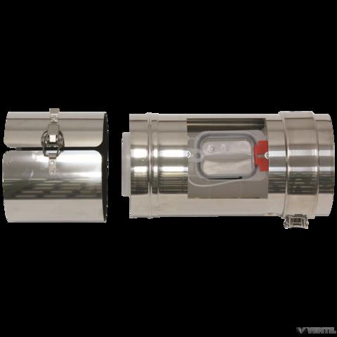 Vaillant 80/125 mm-es koncentrikus revíziós elem 0,25 m