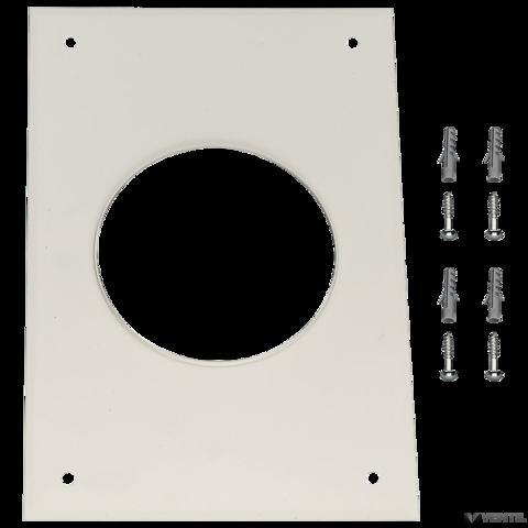 Bosch 125 mm-es fedlap, 200×330 mm (AZB 537)