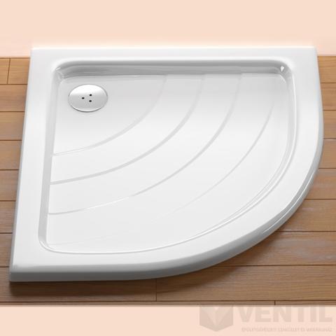 Ravak Ronda 90 PU zuhanytálca, 90x90 cm, fehér, negyedköríves, akril