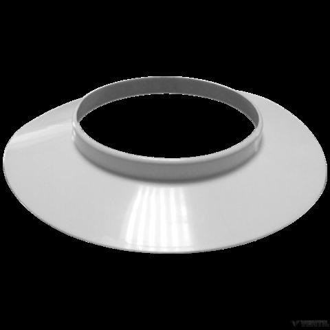 Immergas 100 mm-es fehér takaró gyűrű fali átvezetéshez