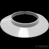 Immergas 80 mm-es fehér takaró gyűrű fali átvezetéshez